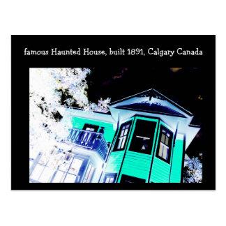 Carte postale hantée de Chambre (Calgary, Canada)