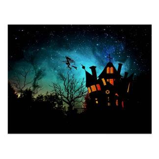 Carte postale hantée de la Chambre de la sorcière