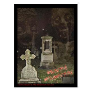 Carte postale HANTÉE de RÉSURRECTION