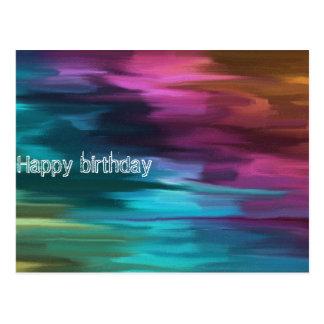Carte Postale Happy birthday card by Barra 404 001