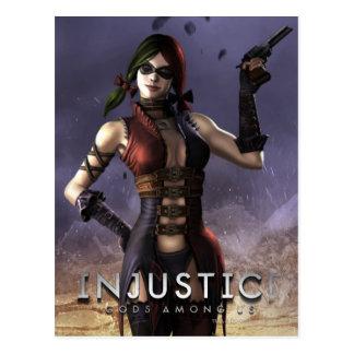 Carte Postale Harley Quinn