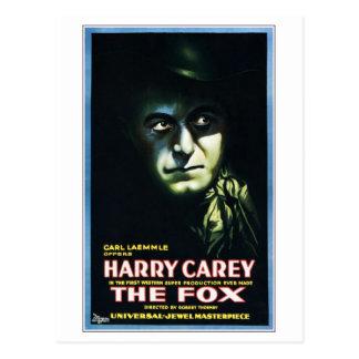 "Carte Postale Harry Carey en ""carte postale du Fox"""
