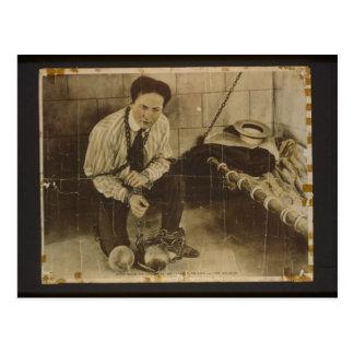 Carte Postale Harry Houdini