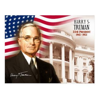 Carte Postale Harry S. Truman - trente-troisième président des