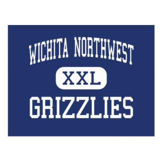 Carte Postale Haut du nord-ouest de Wichita - ours gris - -