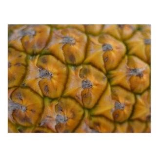 Carte postale haute étroite d'ananas