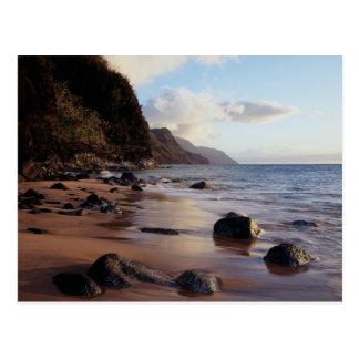 Carte Postale Hawaï, Kauai, parc d'état de Haena 2