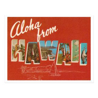 Carte Postale Hawaï vintage