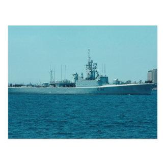 "Carte Postale HCMS Saskatchewan"", escorteur de destroyers de"