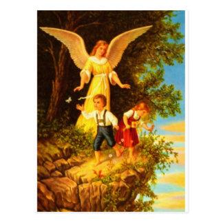 Carte Postale Heiliger Schutzengel - huile de l'ange gardien 8