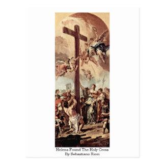 Carte Postale Helena a trouvé la croix sainte par Sebastiano