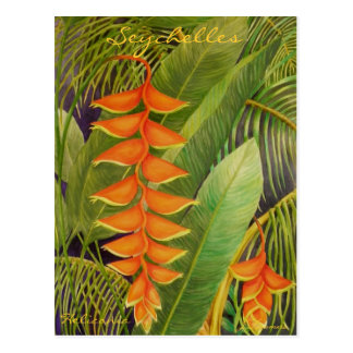 Carte Postale Heliconia