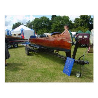 Carte Postale Henley sur la Tamise, canoë traditionnel