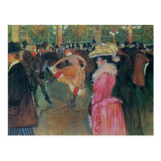 Carte Postale Henri De - Lautrec- au fard à joues, la danse