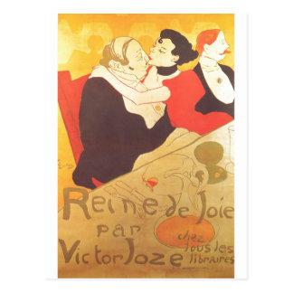 Carte Postale Henri De Toulouse-Lautrec Reine de Joie