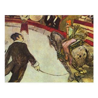 Carte Postale Henri Toulouse-Lautrec - le cirque