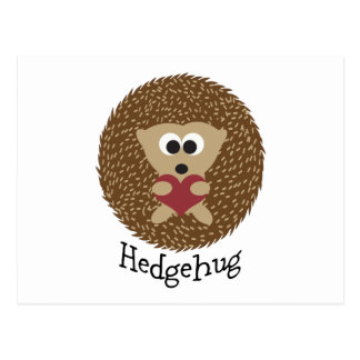Carte Postale Hérisson de Hedgehug