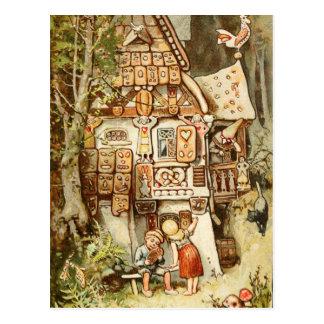 Carte Postale Hermann Vogel - Hansel et Grethel
