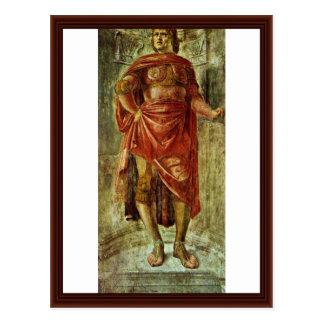 Carte Postale Héros antique par Bramante Donato