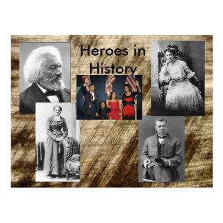 Carte Postale Héros dans la collection d'histoire - vol -