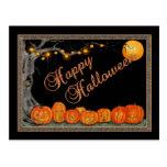 Carte postale heureuse de Halloween