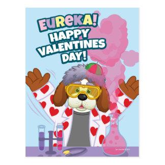 Carte Postale Heureuse Sainte-Valentin !