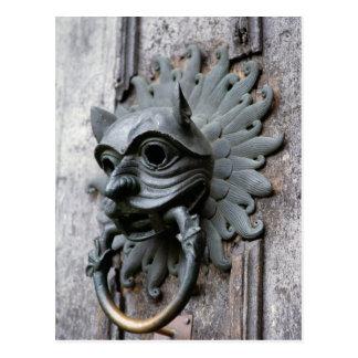 Carte Postale Heurtoir de sanctuaire de cathédrale de Durham