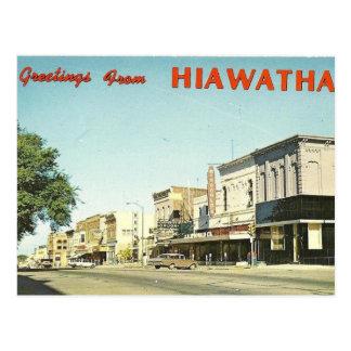 Carte Postale Hiawatha le Kansas