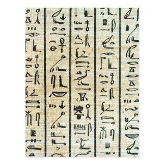 Carte Postale Hiéroglyphe