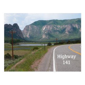 Carte Postale Highway141