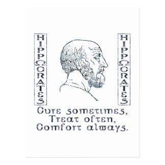 Carte Postale Hippocrate