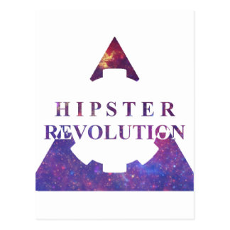 Carte Postale Hipster Revolution Gear