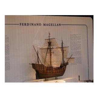 Carte Postale Histoire, explorateurs, Ferdinand Magellan