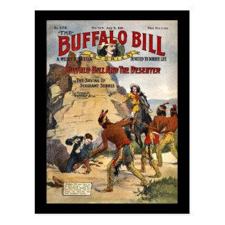 Carte Postale Histoires 1910 de Buffalo Bill