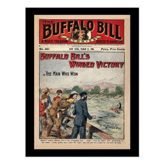 Carte Postale Histoires de Buffalo Bill - 1910 - victoire à