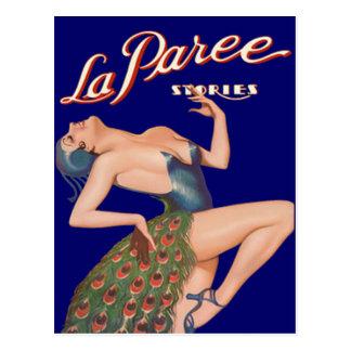 Carte Postale Histoires de Paree de La