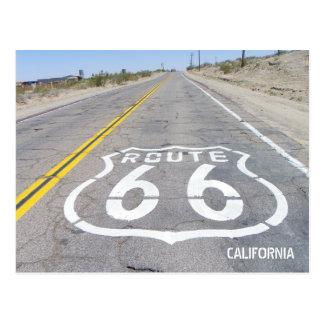 Carte postale historique de l'itinéraire 66 !