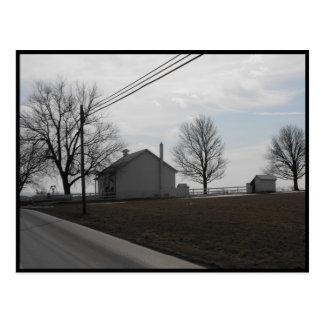 Carte Postale Hiver de ~ dans le ~ 20 du comté de Lancaster