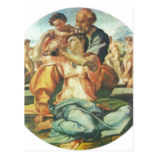Carte Postale Hl de Michaël Angelo Buonarroti. Familie, Tondo