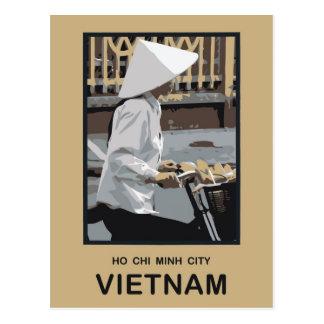 Carte Postale Ho Chi Minh Ville Vietnam
