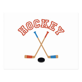 Carte Postale Hockey