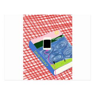 Carte Postale Hockney style