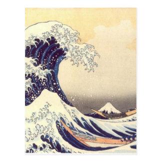 Carte Postale Hokusai 'le grand Wave
