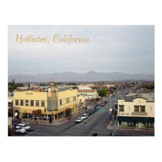 Carte Postale Hollister du centre, la Californie