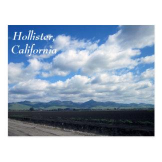 Carte Postale Hollister, la Californie