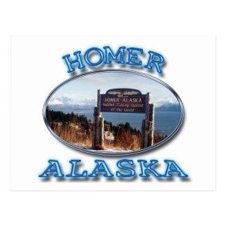 CARTE POSTALE HOMER, ALASKA