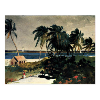Carte Postale Homer - Nassau 1899
