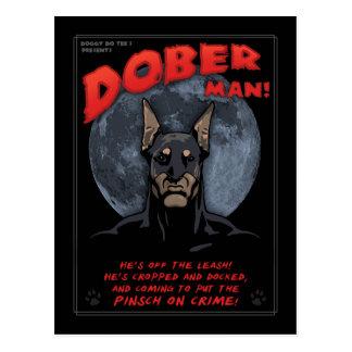 Carte Postale Homme de Dober !