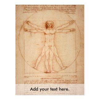 Carte Postale Homme de Vitruviano