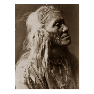 Carte Postale Homme indien indigène de Luqaiot Kittitas